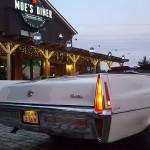 Eingang Moe's Diner